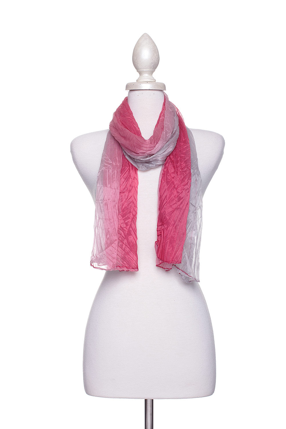 Type 2 Rosy Ombre Scarf