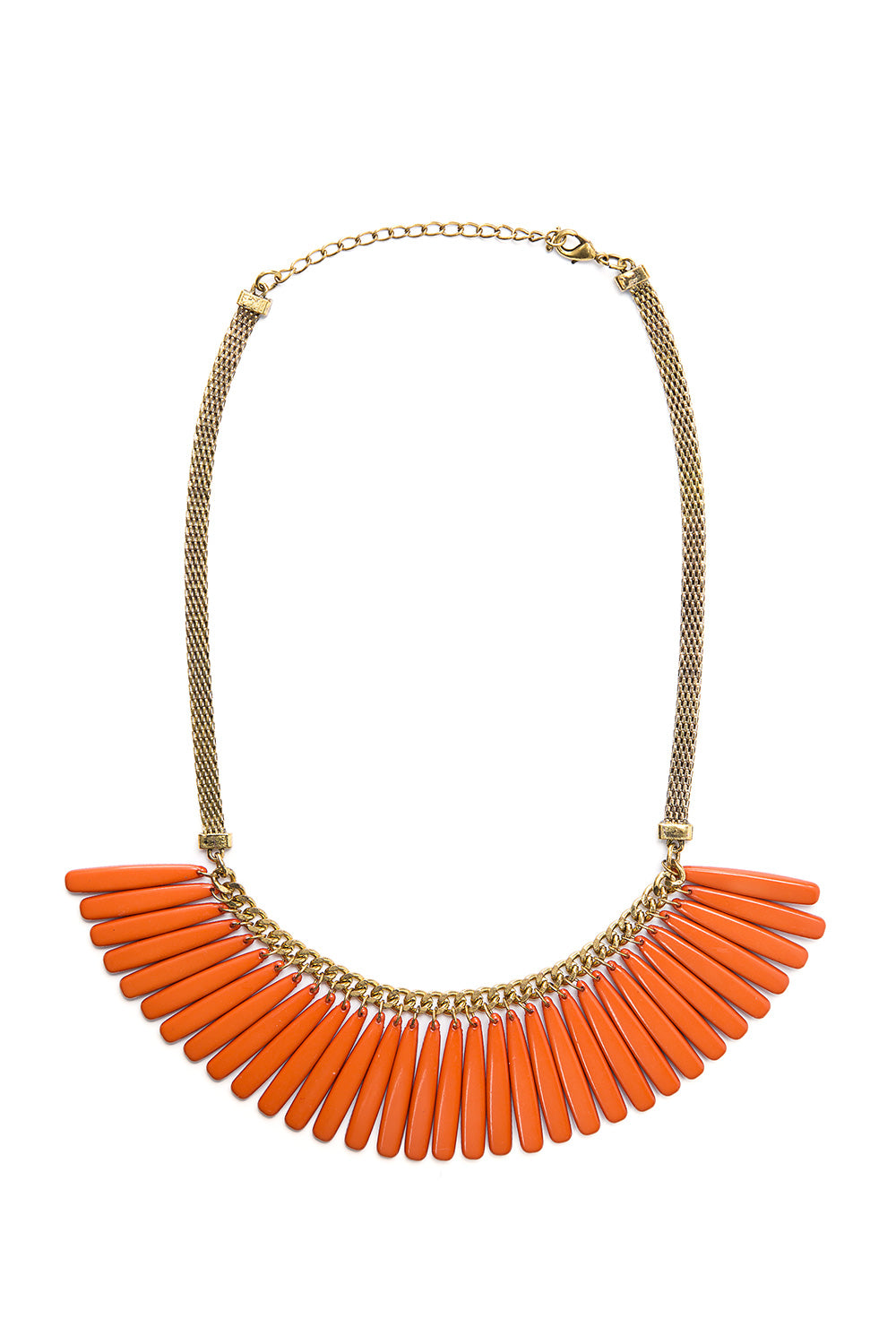 Type 3 Fire Fringe Necklace