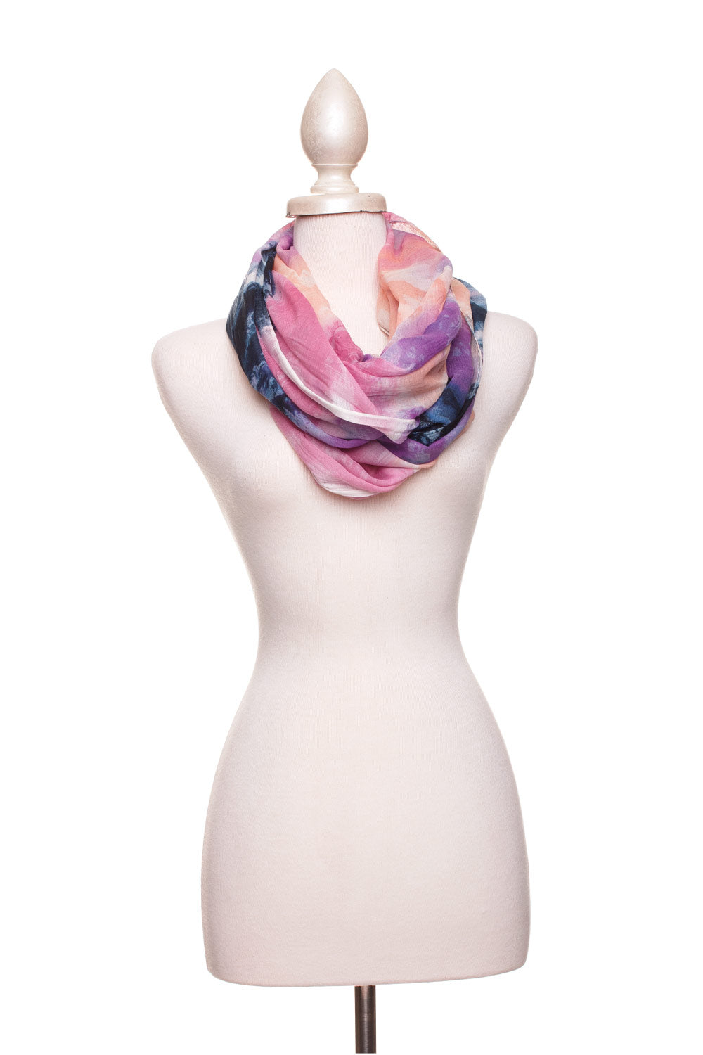 Type 2 Watercolor Infinity Scarf