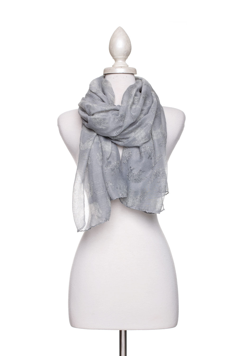 Type 2 Parade of Elephants Scarf