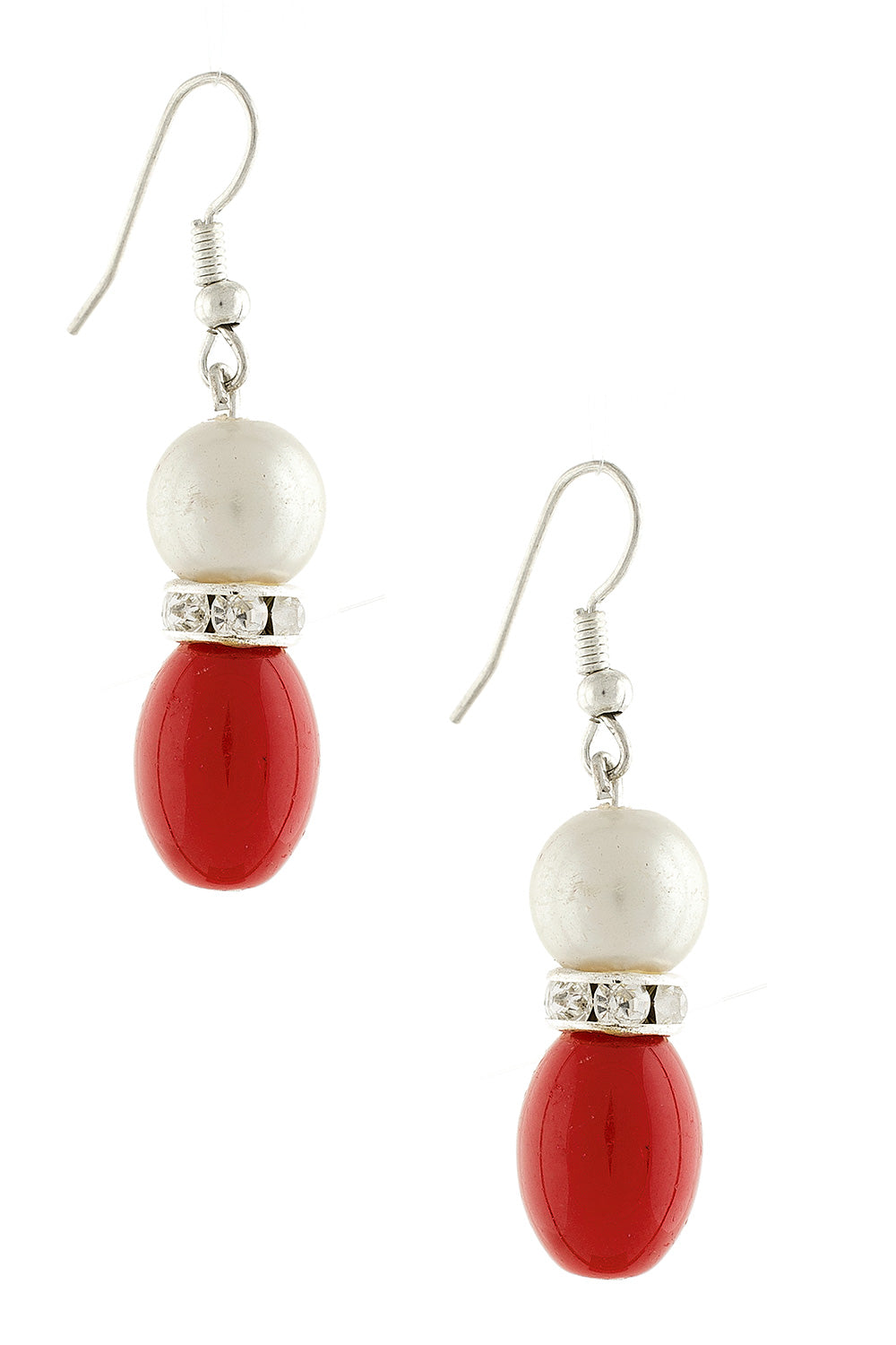 Type 4 Contempo Earrings in Red