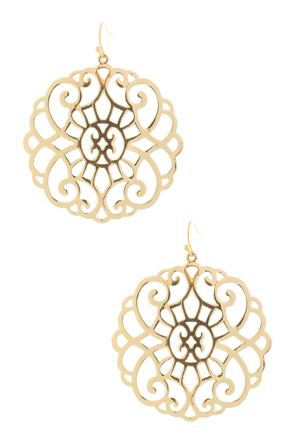 Type 1 Gold Lace Earrings