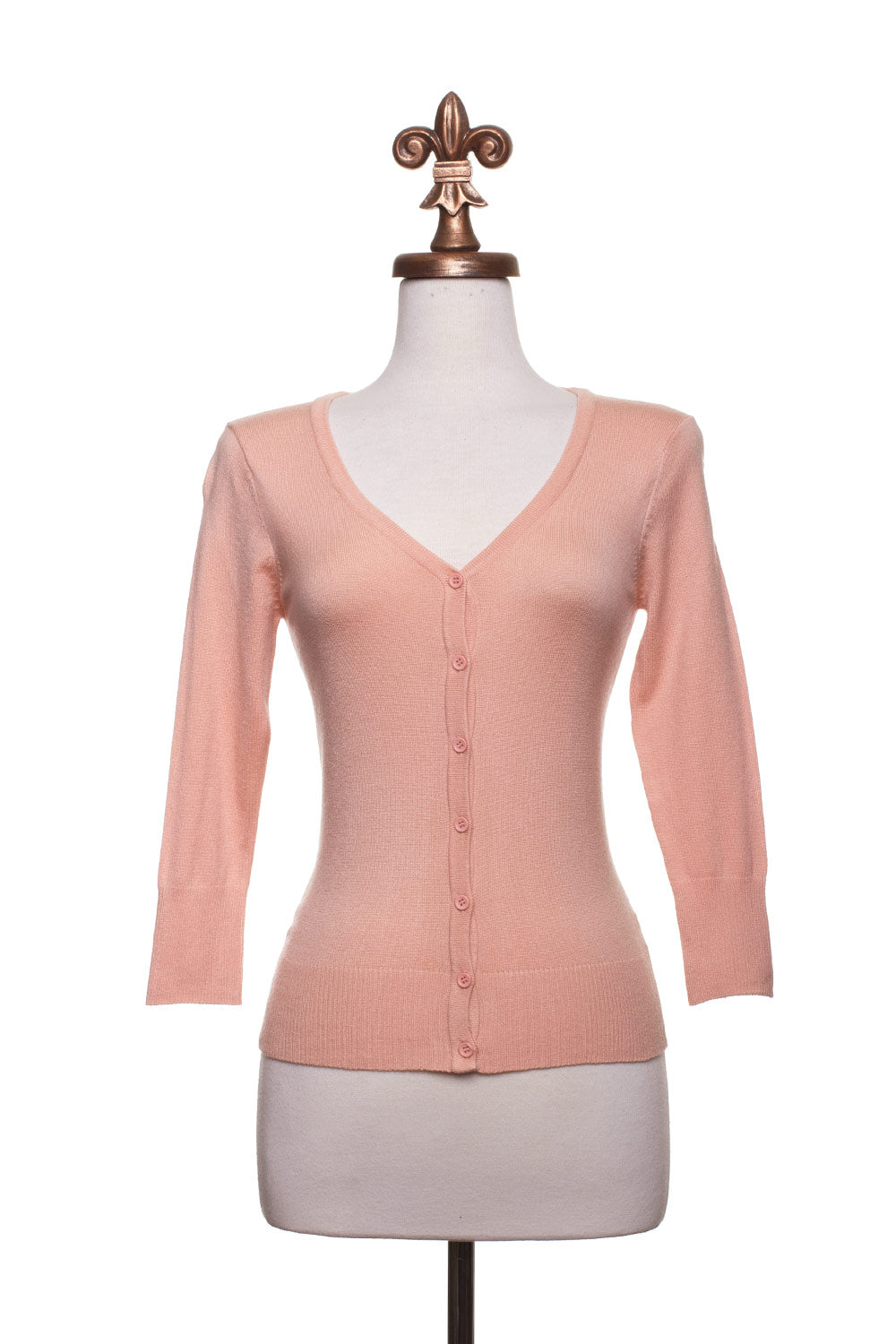 Type 3 Peach Cardigan