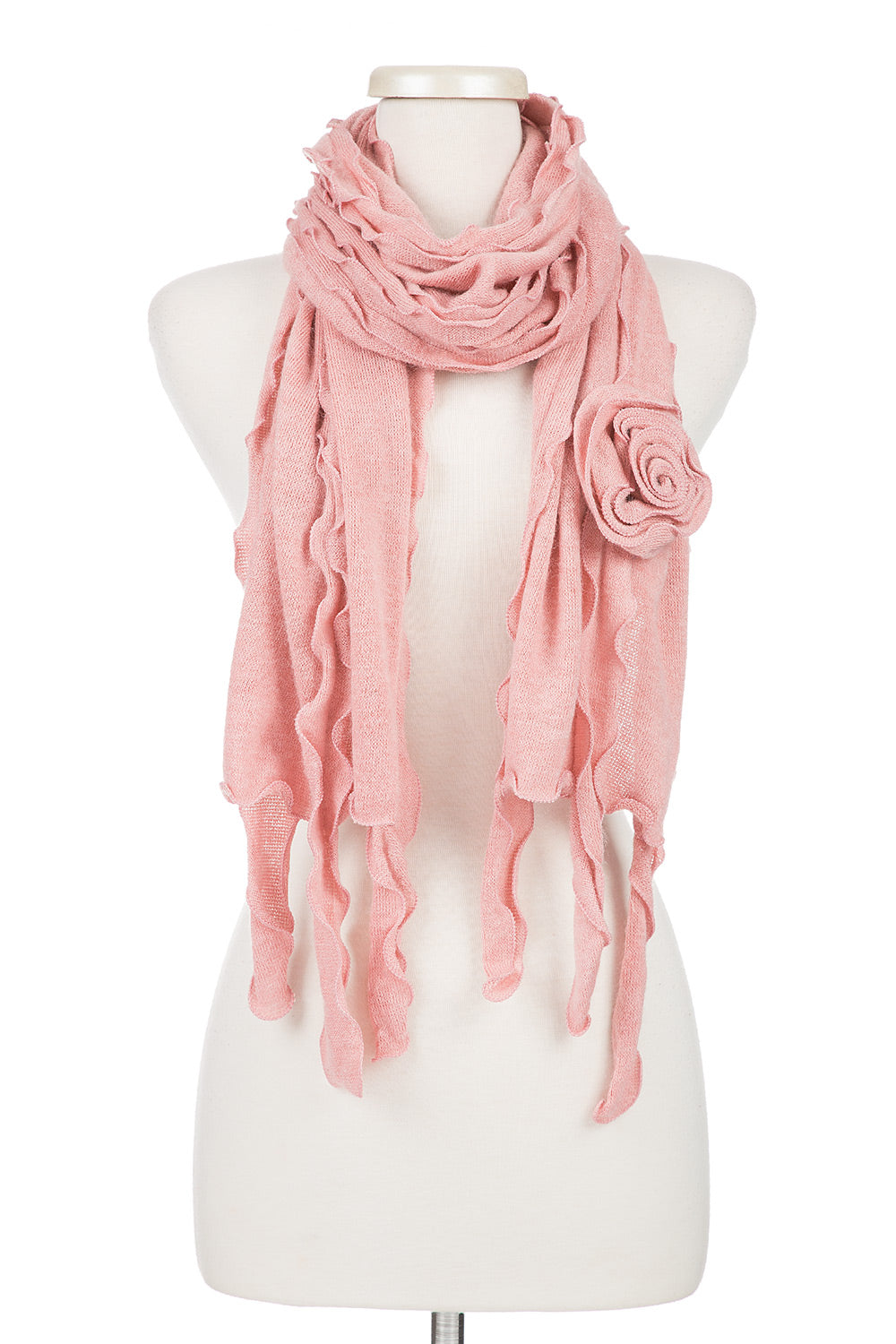 Type 2 Rosy Ruffles Scarf