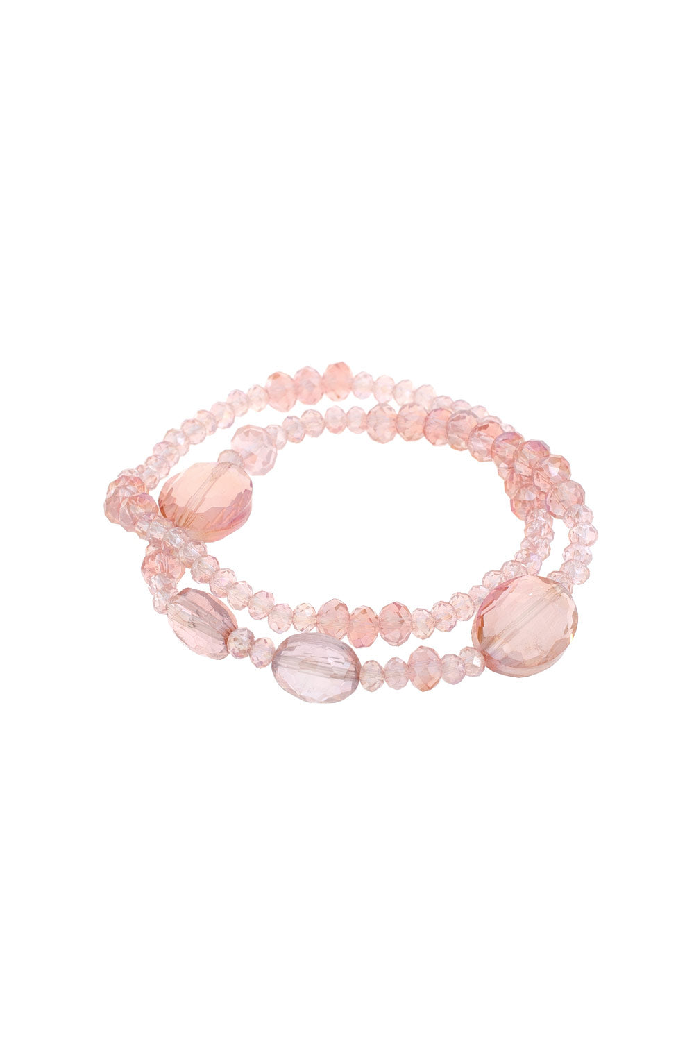 Type 2 Glittering Grace Bracelet in Pink
