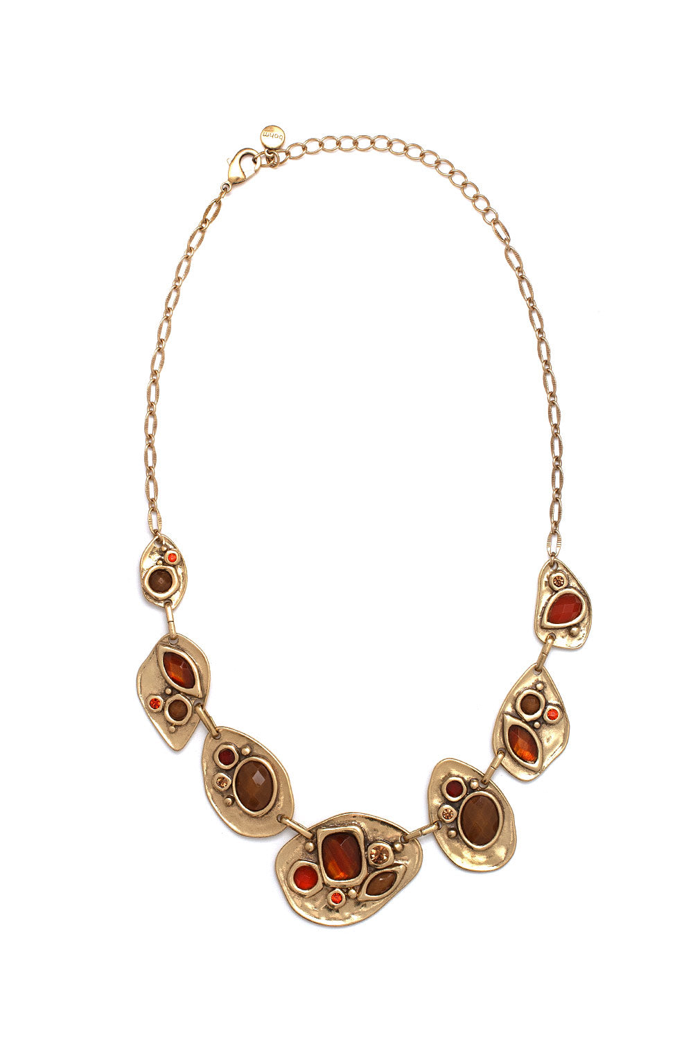 Type 3 Ornate Amber Necklace