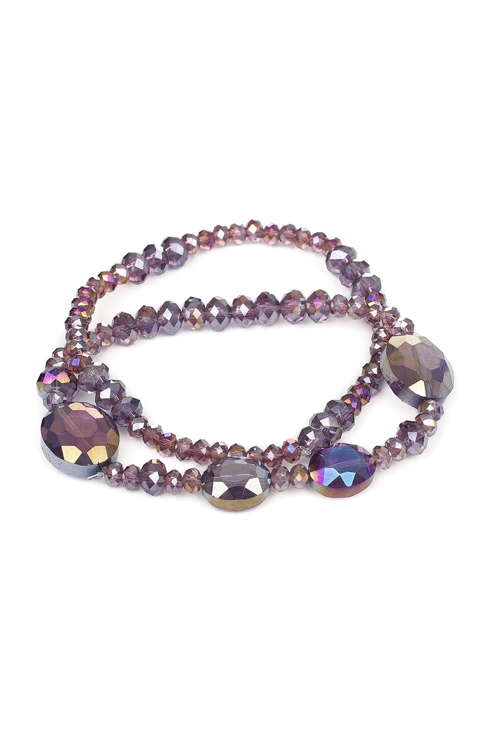 Type 2 Glistening Bracelet in Purple