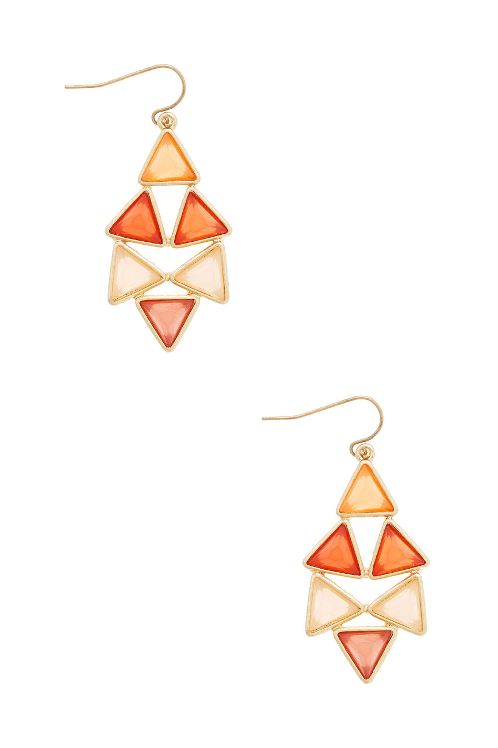 Type 3 Tandem Triangles Earrings