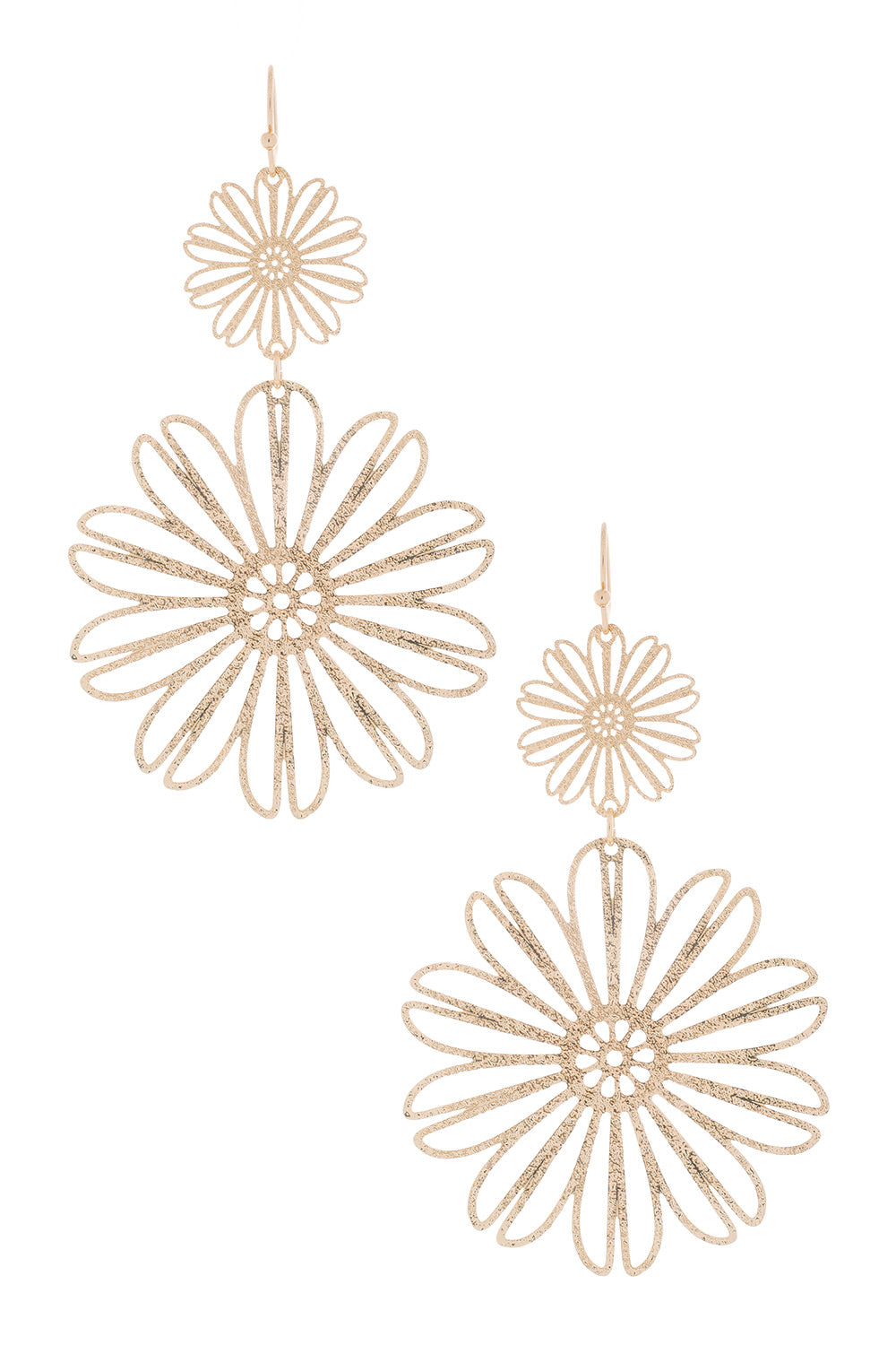 Type 1 Double Daisies Earrings