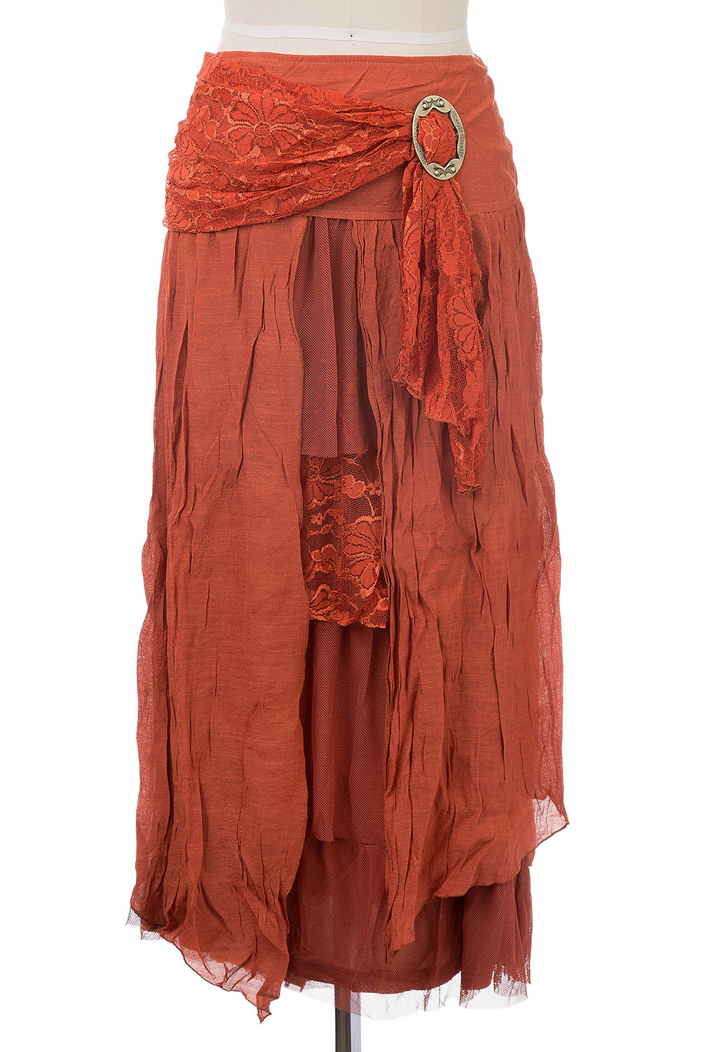 Type 3 Gypsy Skirt in Orange