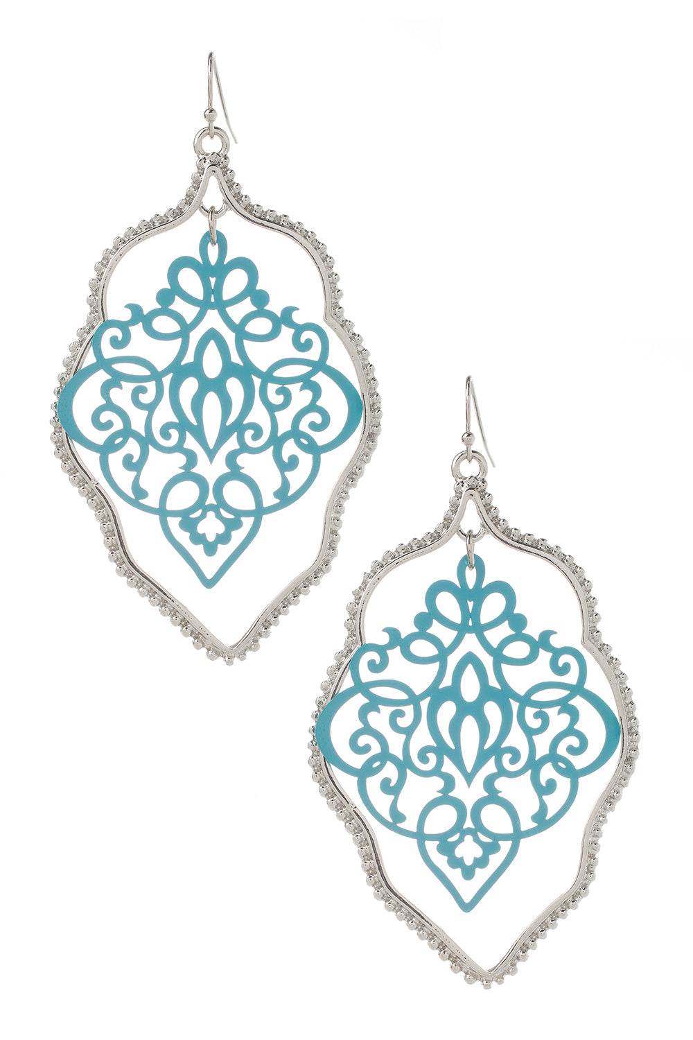 Type 2 Doily Frame Earrings