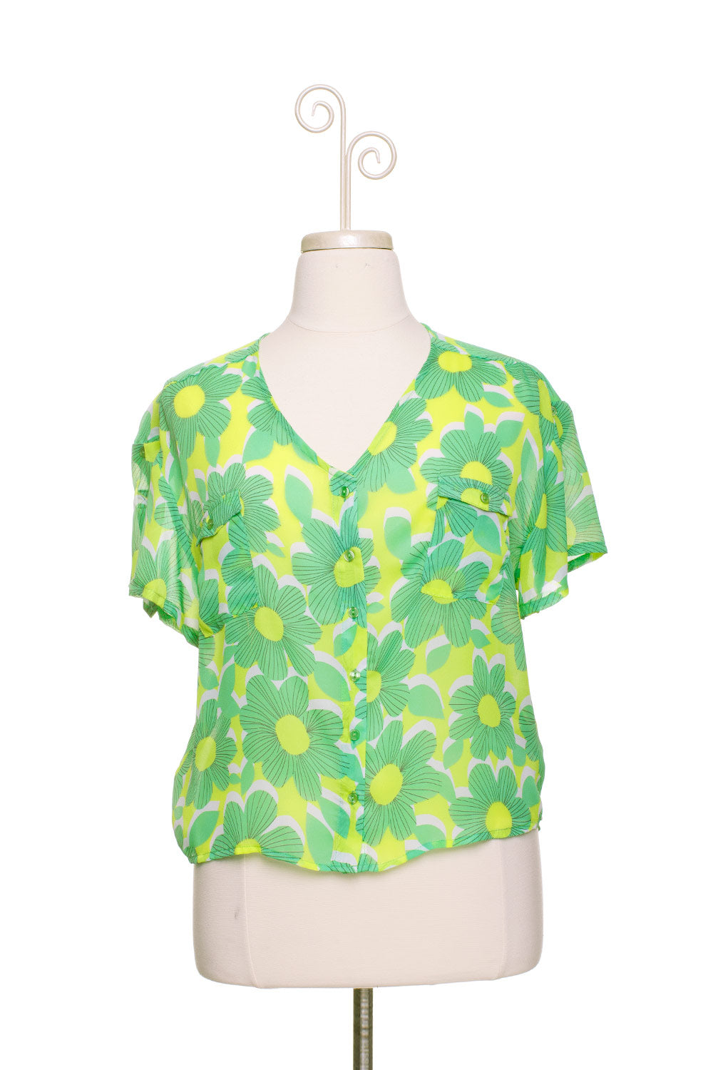 Type 1 Bright Bloom Top