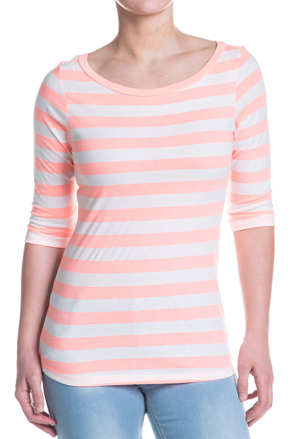 Type 1 Flamingo Striped Cute-T