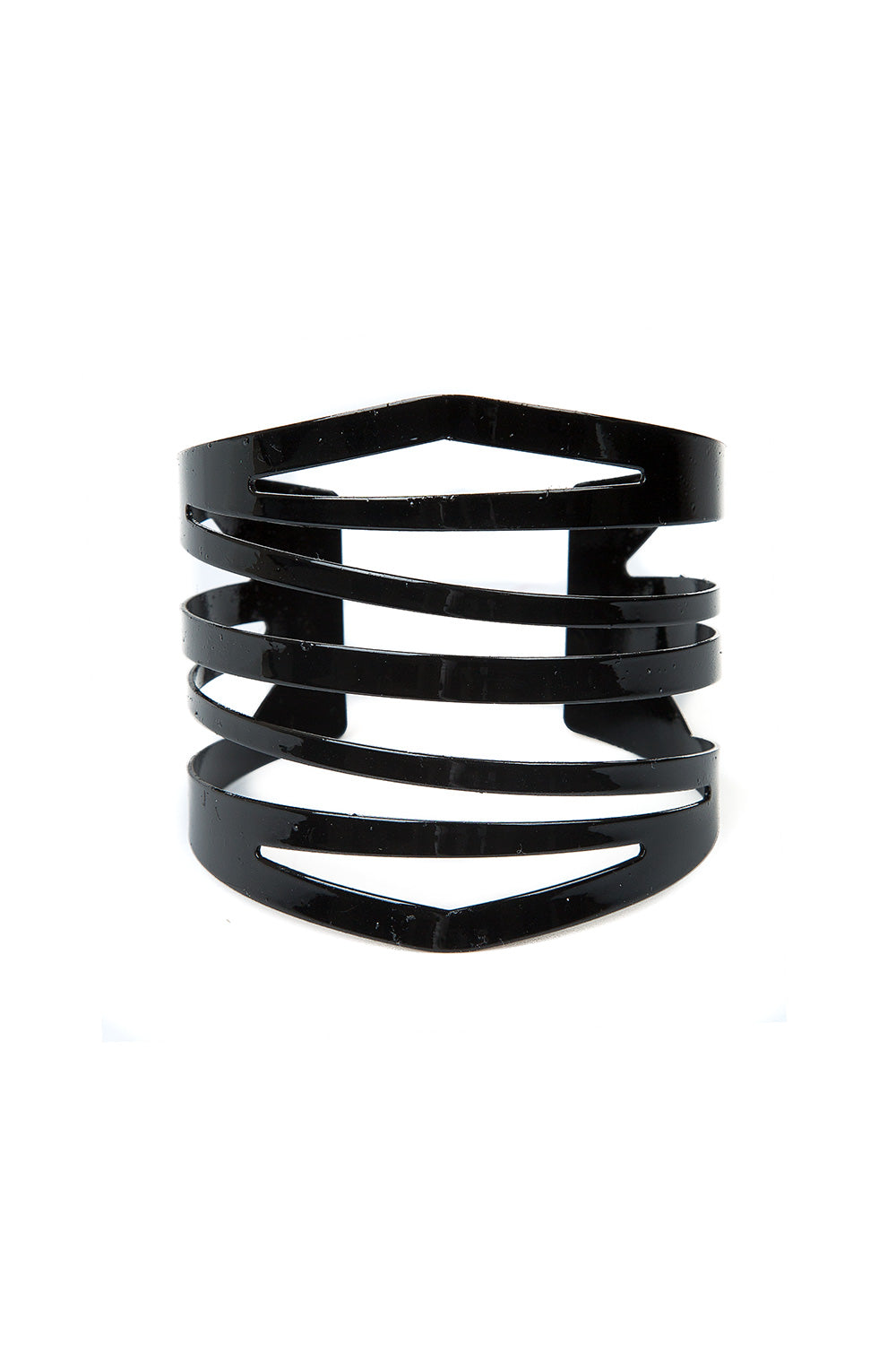 Type 4 Contemporary Cuff in Black