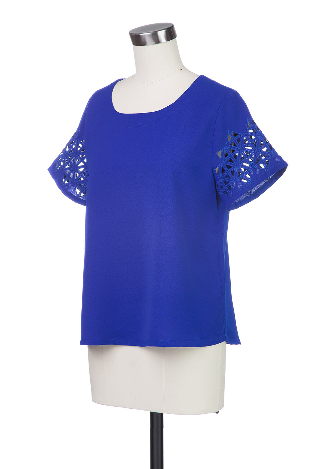 Type 4 Cut it Out Top in Cobalt