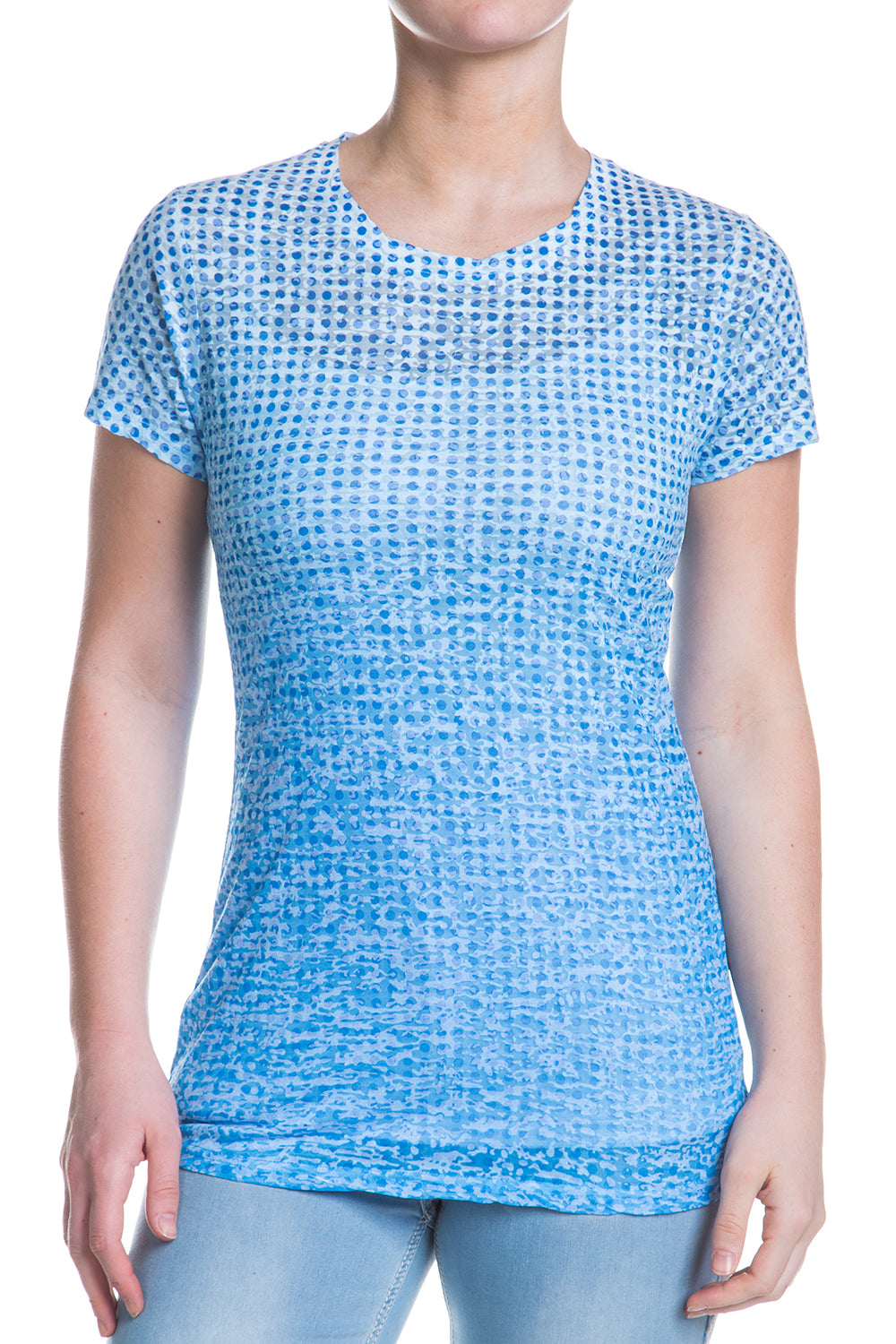 Type 1 Blue Illusion Cute-T