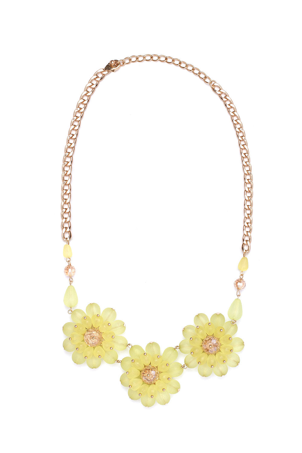 Type 1 Fluorescent Floral Necklace
