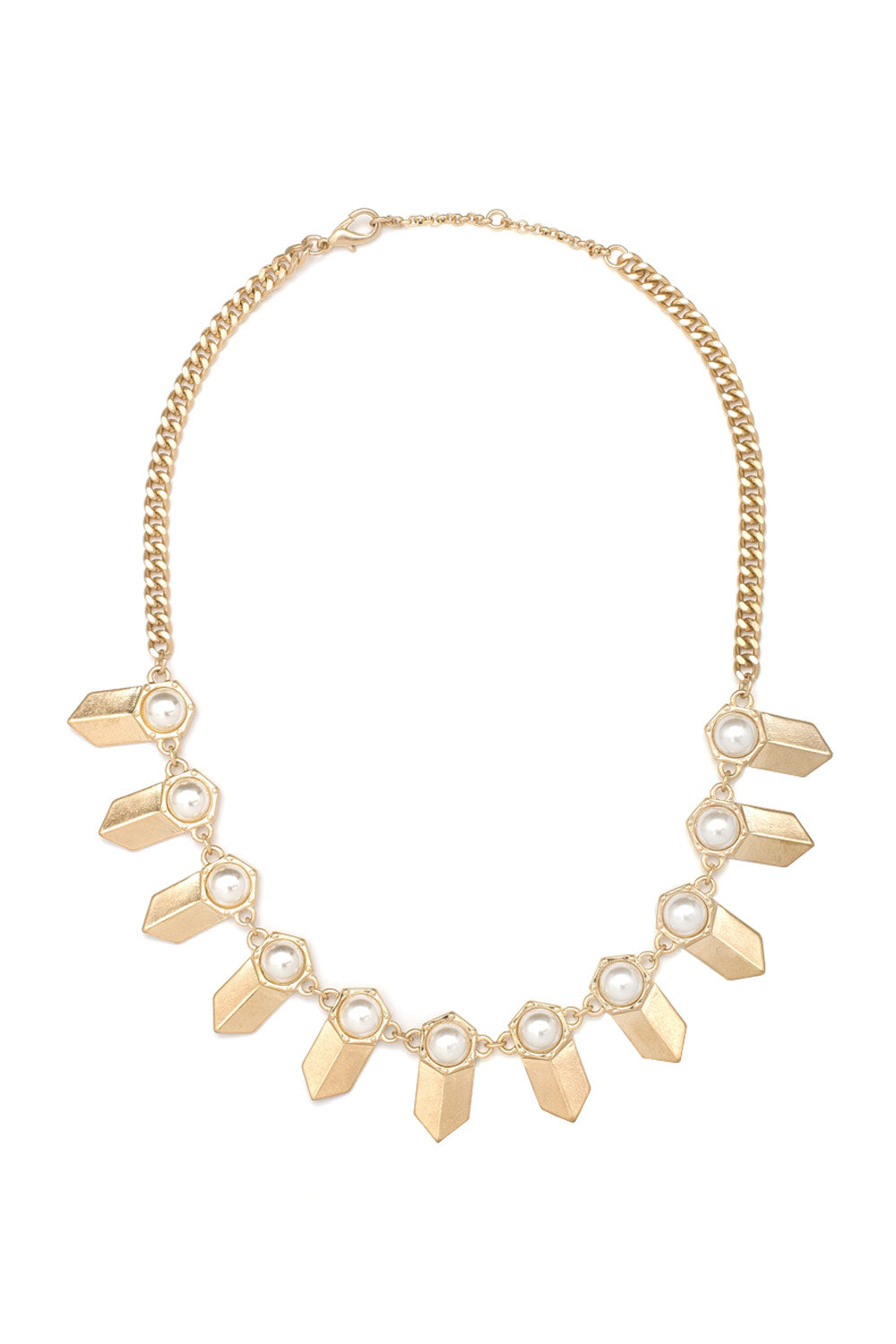 Type 1 Pearl Points Necklace