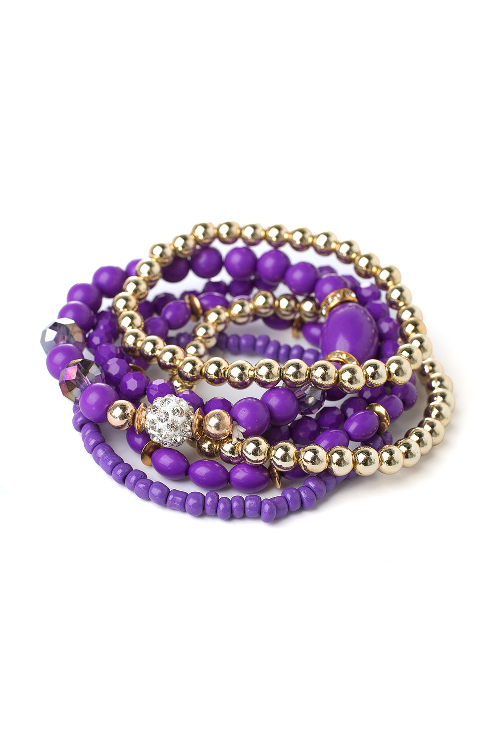 Type 1 Bling Me Purple Bracelet