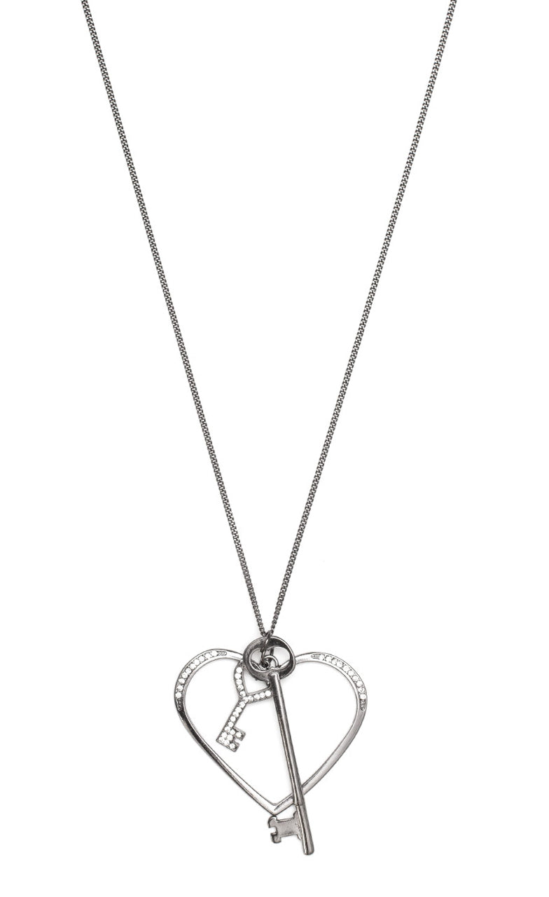Type 2 Key to My Heart Necklace