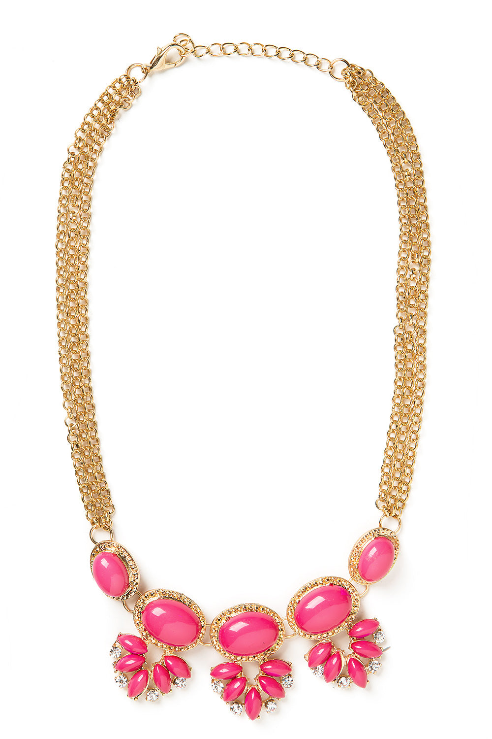 Type 1 Pink Grapes Necklace