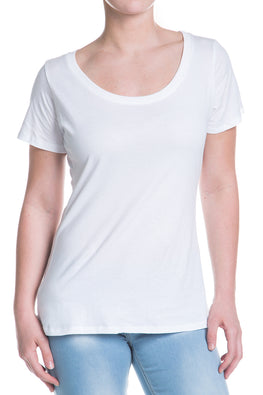 Perfectly White Basic T