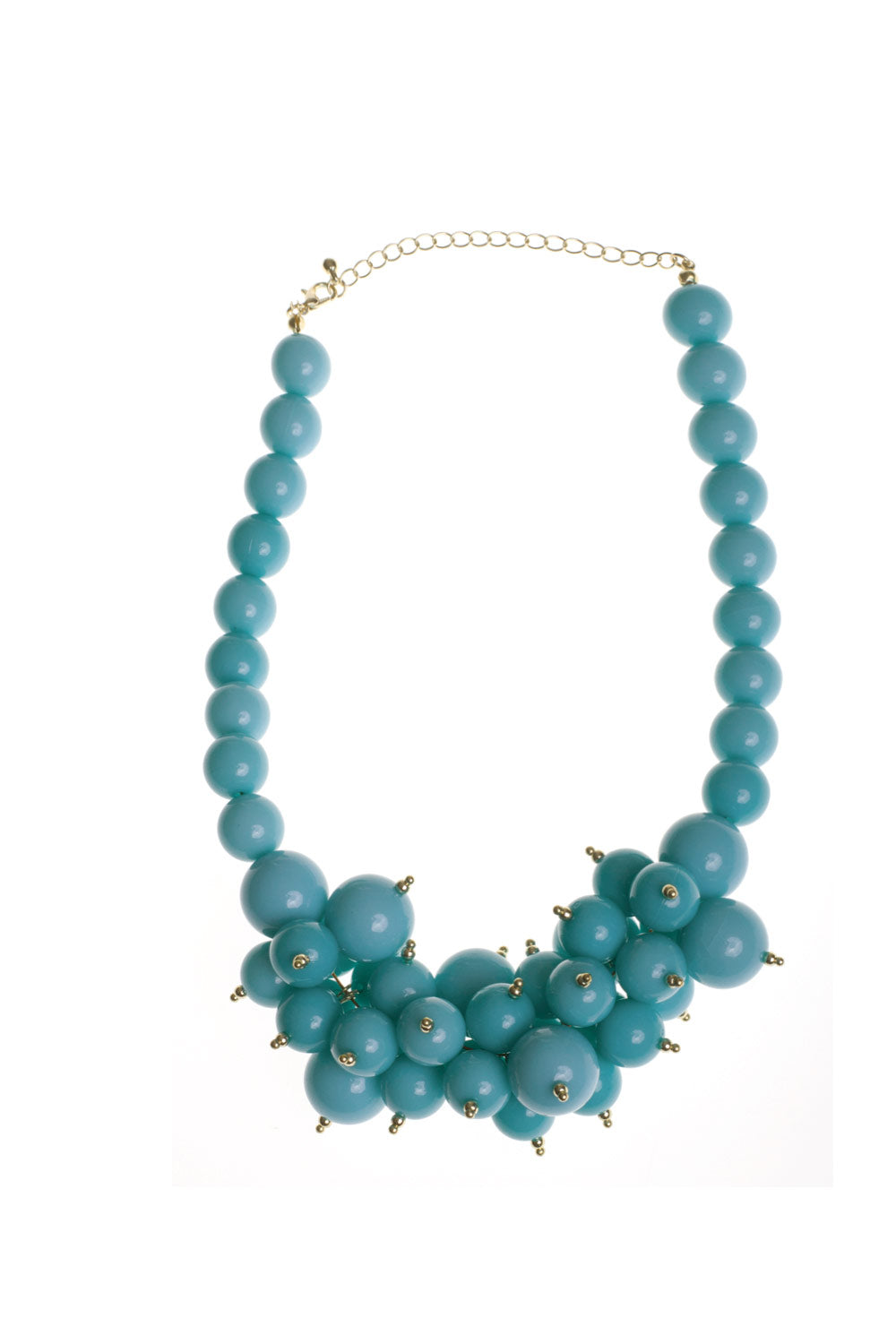 Type 1 Bubbly Blue Necklace