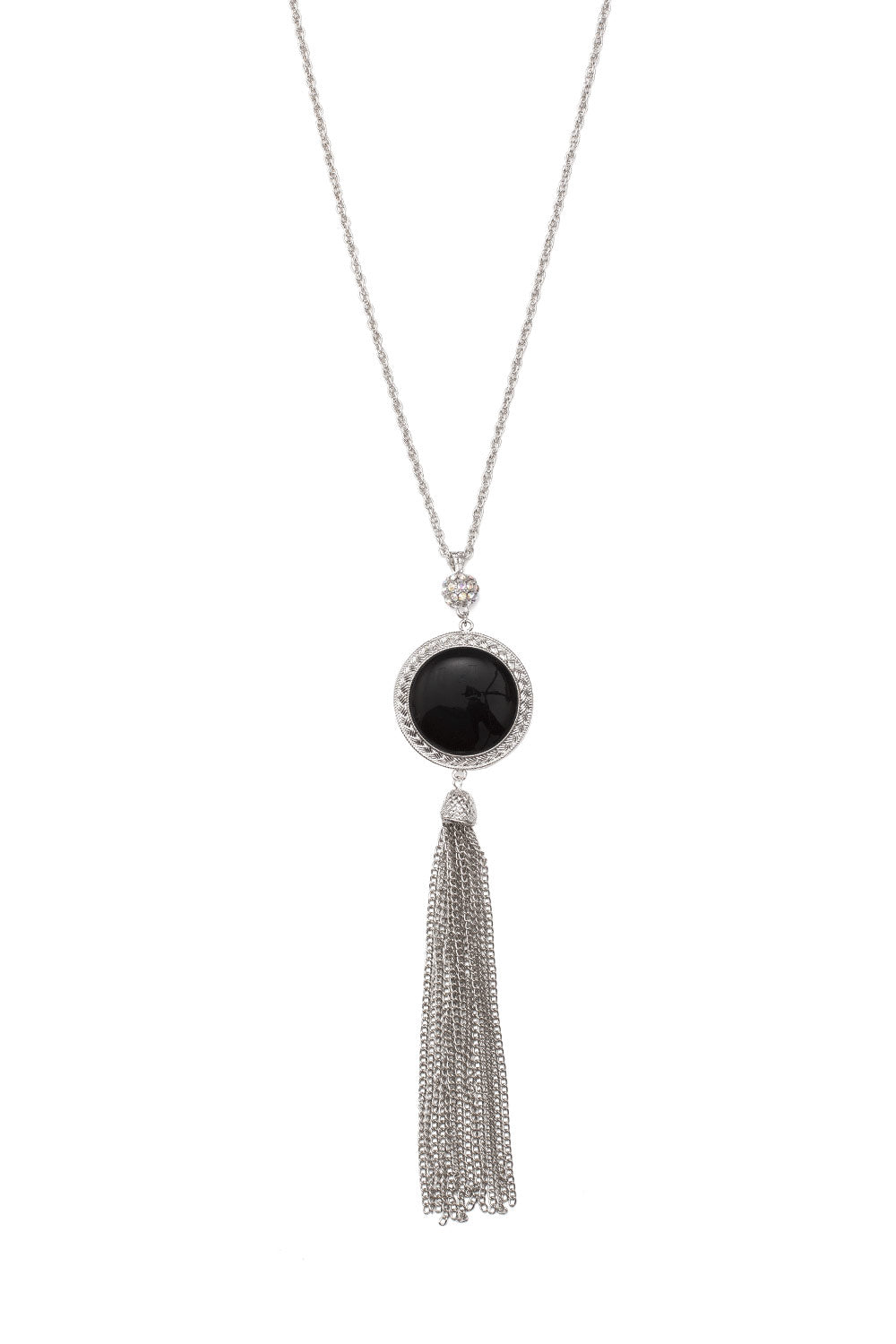 Type 4 Onyx Orb Necklace