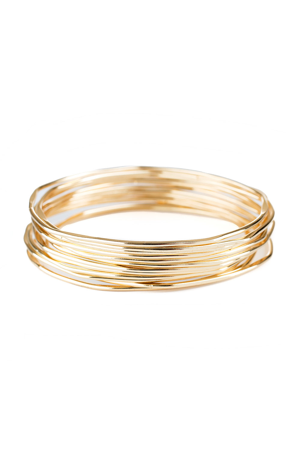 Type 1 Bent Bangles Bracelet Set