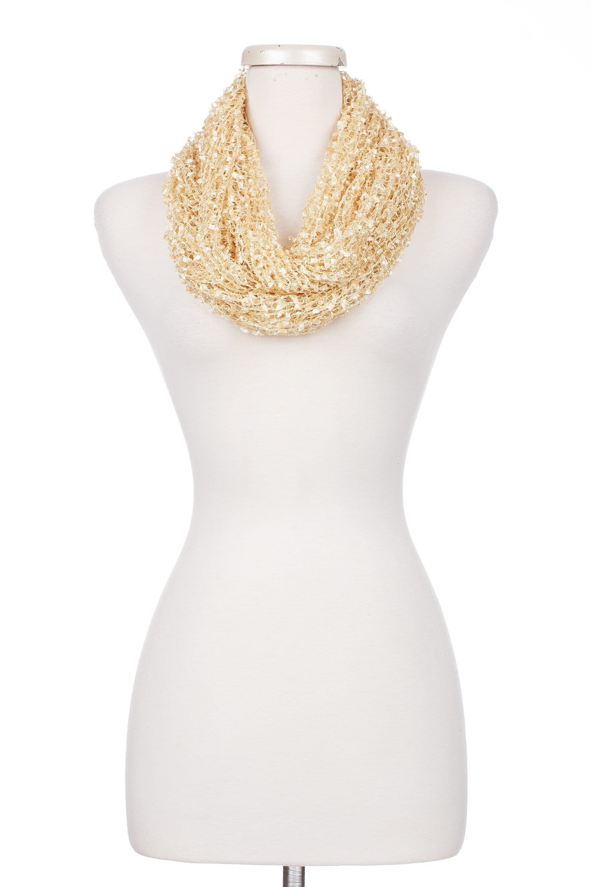 Type 1 Wispy Wheat Infinity Scarf
