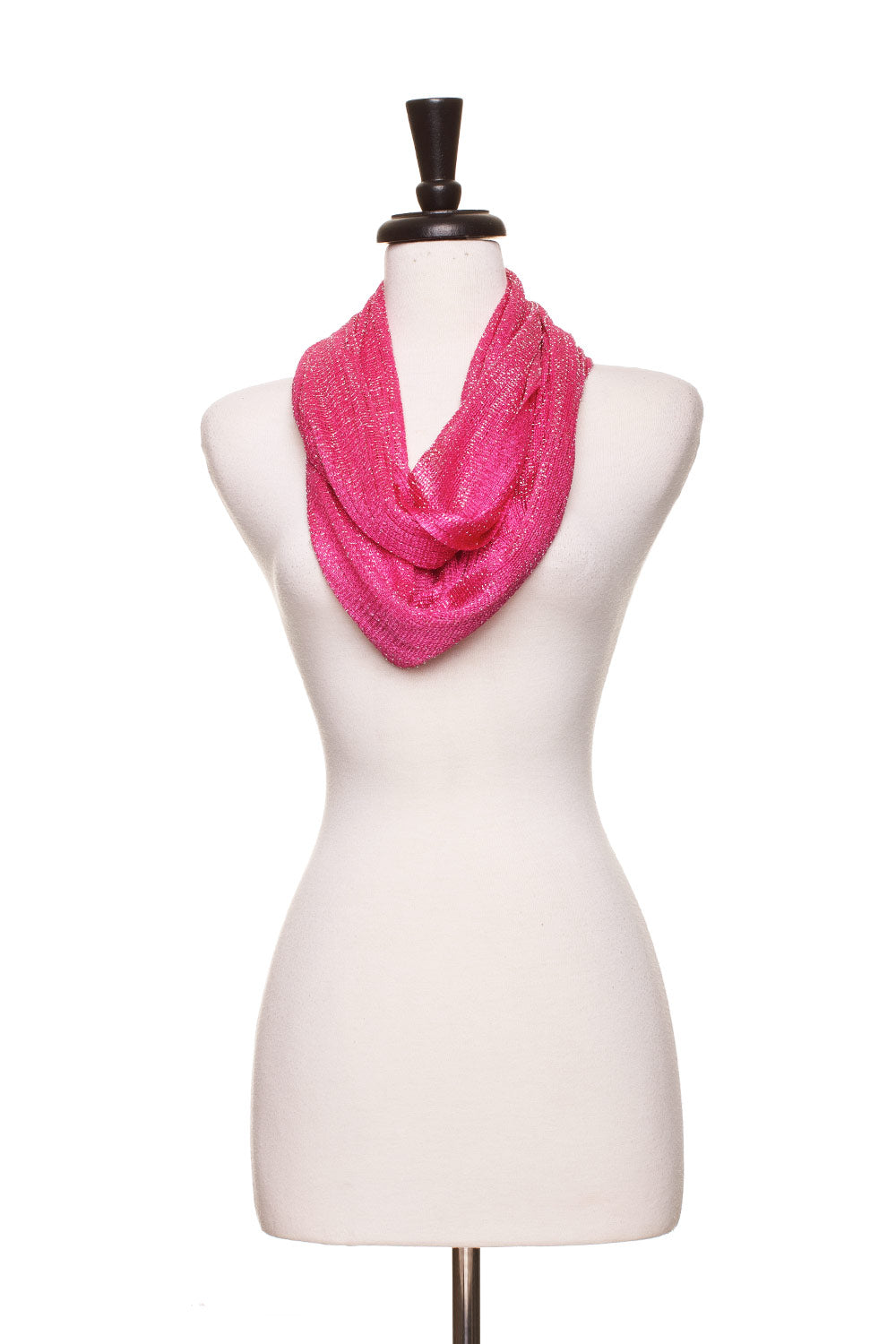 Type 4 Majestic Infinity Scarf in Pink