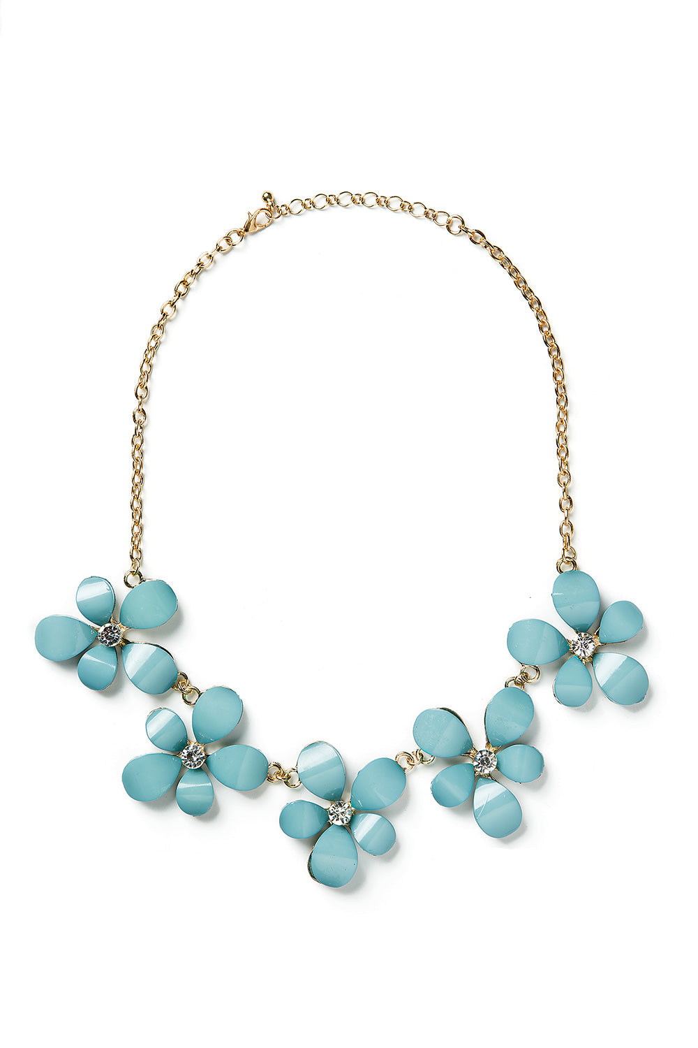 Type 1 Blue Meadow Necklace