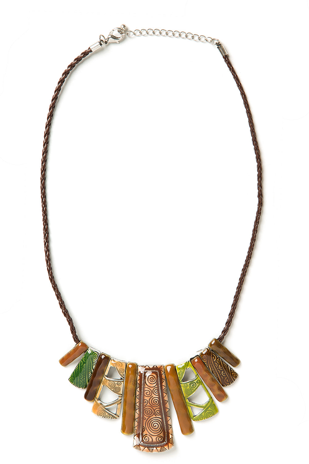 Type 3 Mayan Metal Necklace
