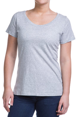 Type 2 Heathered Gray Soft-T