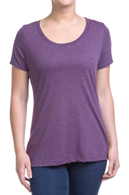 Type 2 Heathered Purple Soft-T