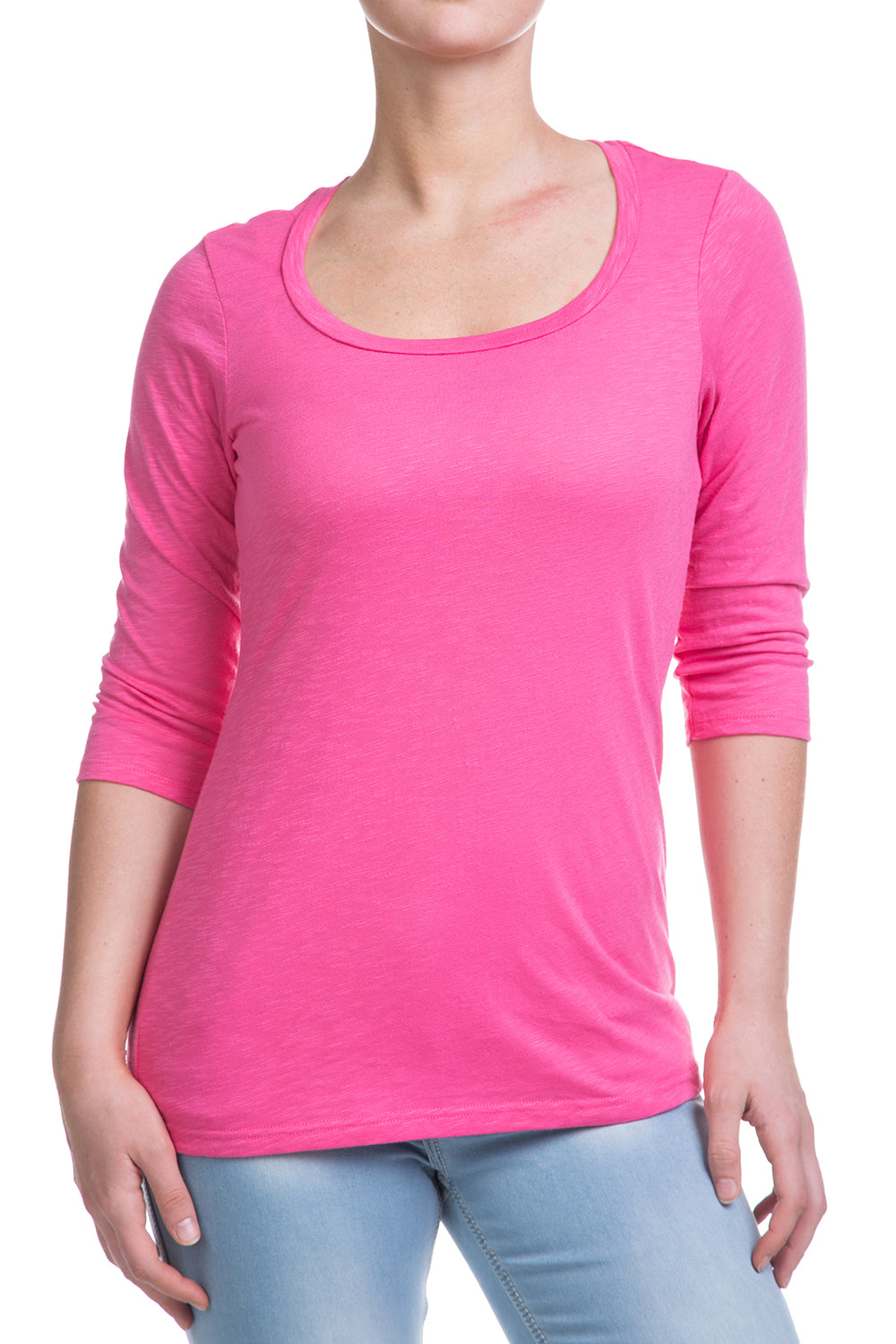 Type 1 Pink Frosting 3/4 Sleeve Cute-T