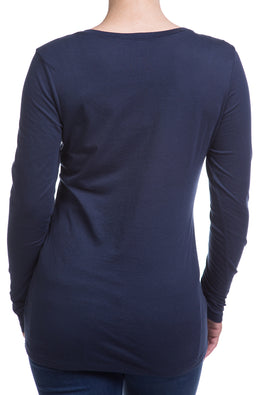 Type 2 Navy Soft-T Long