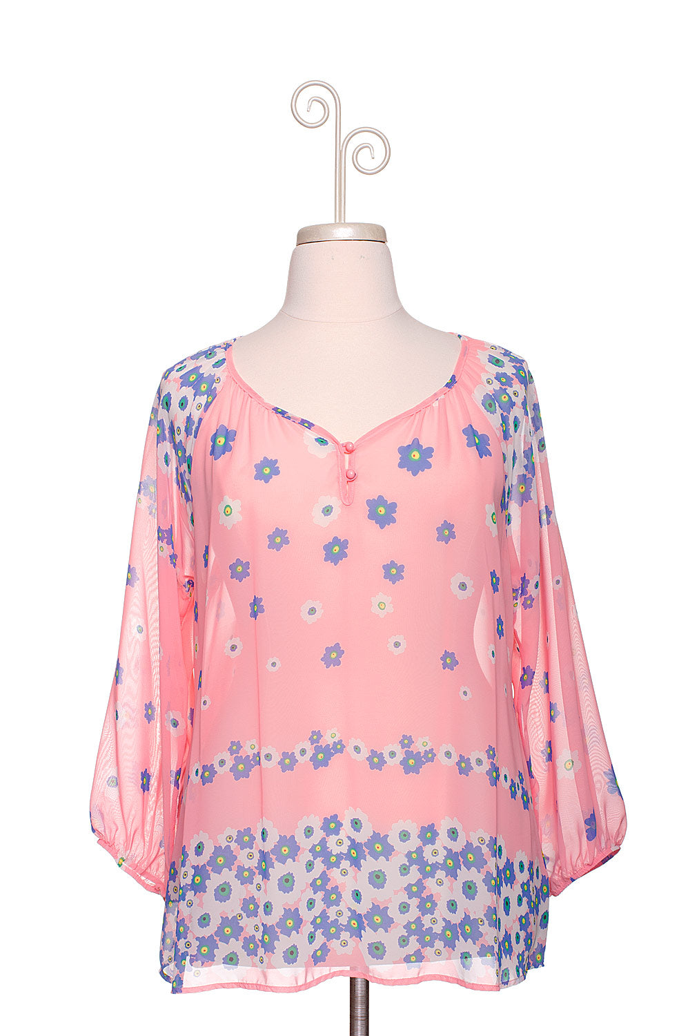 Type 1 Flirty Flowers Top