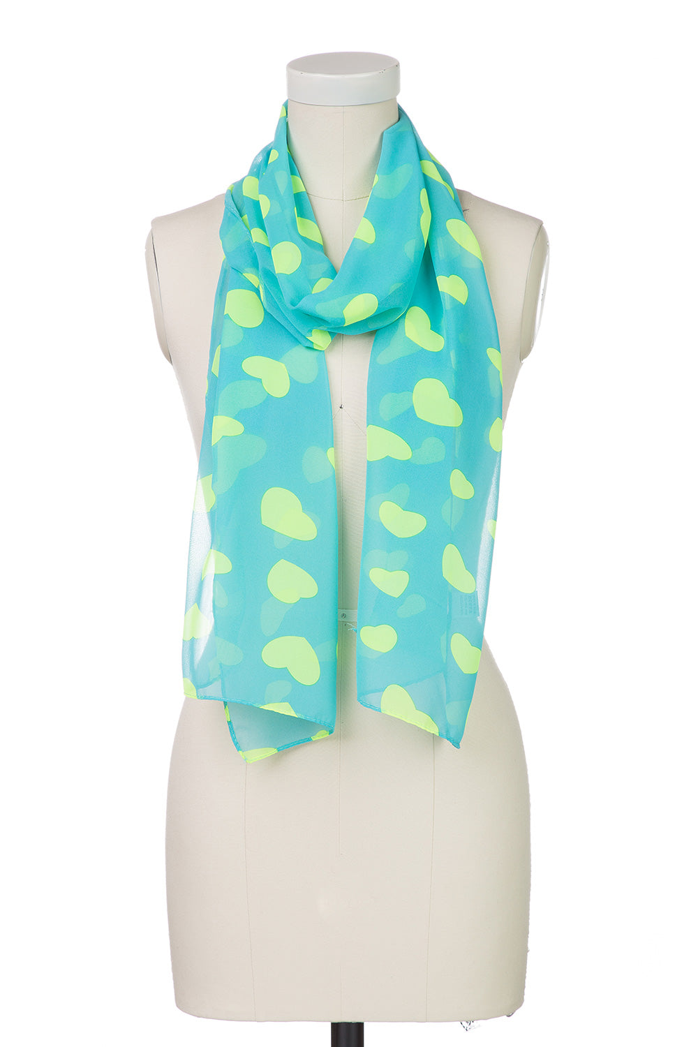 Type 1 I Heart Blue Scarf