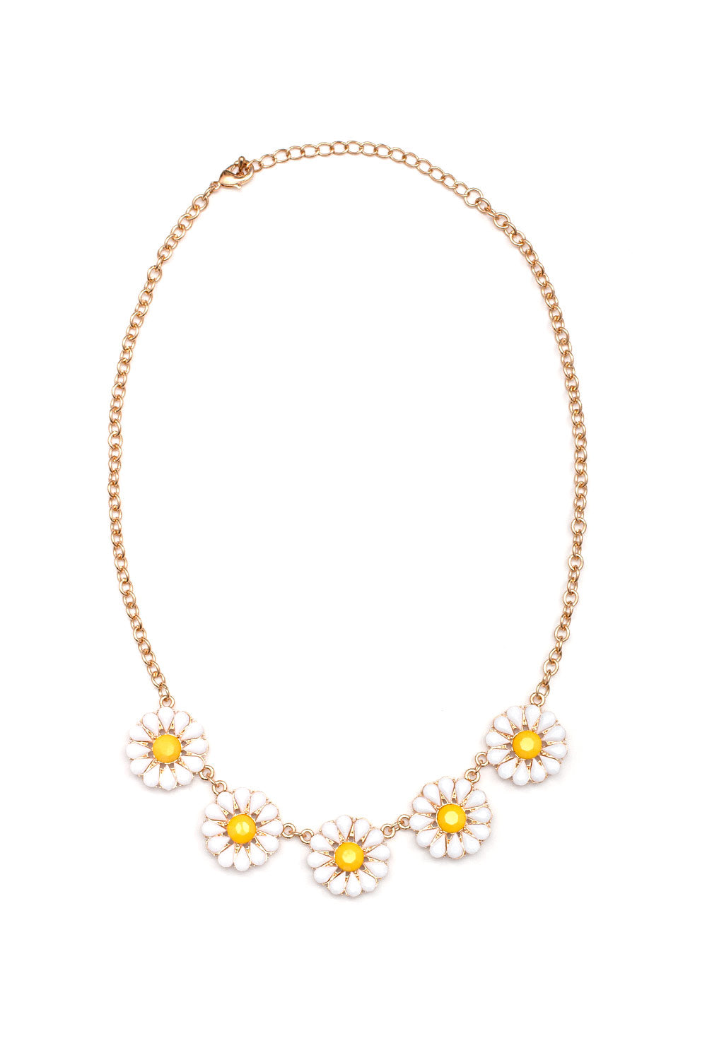 Type 1 Darling Daisies Necklace