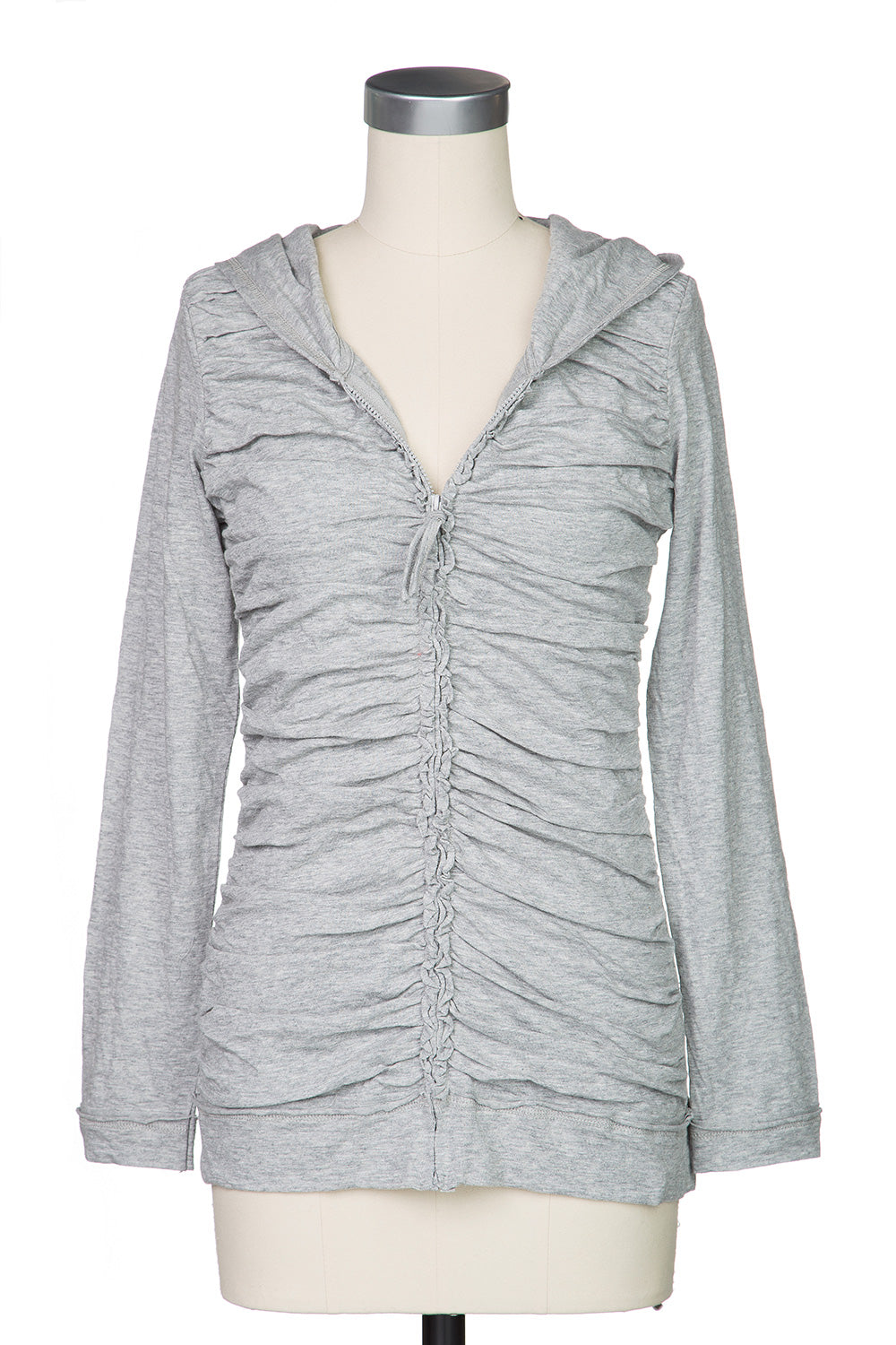 Type 2 Chic Shirred Jacket in Grey