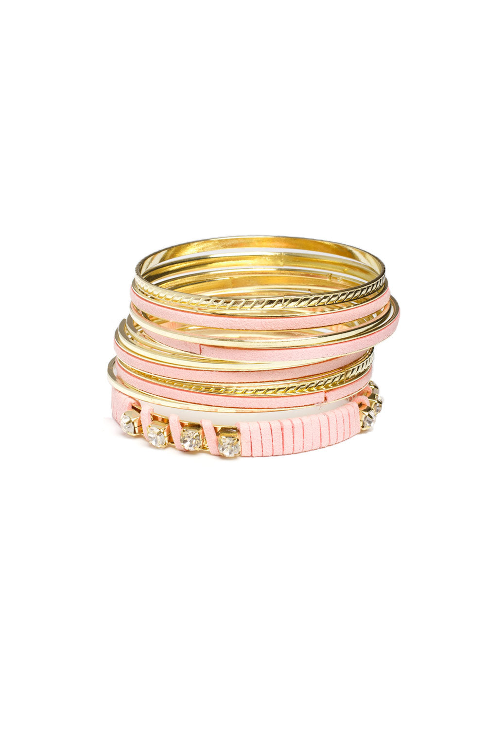 Type 1 Pink Power Bangle Set