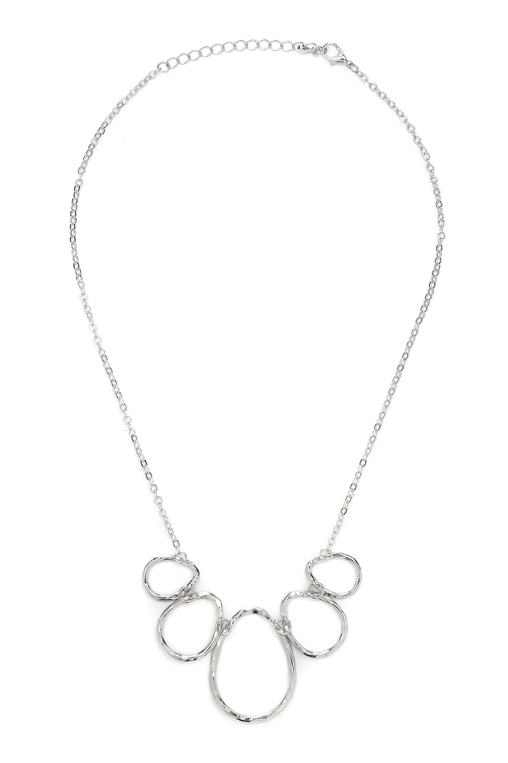 Type 4 Silver Egg Necklace