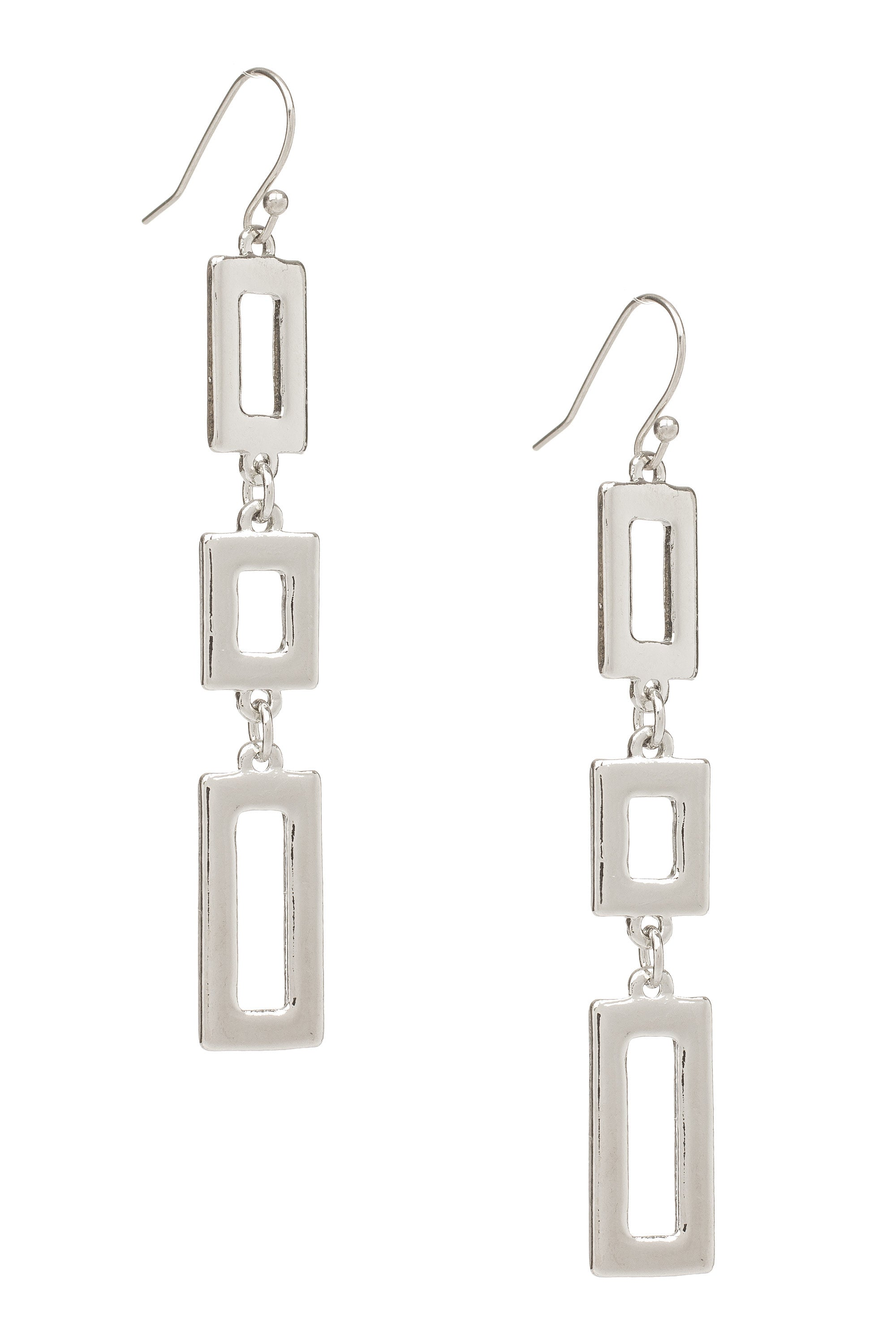 Type 4 Silver Stacks Earrings