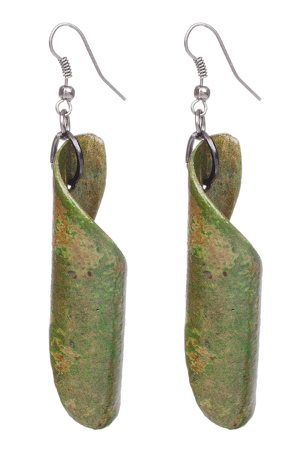 Type 3 Wood Chip Earrings