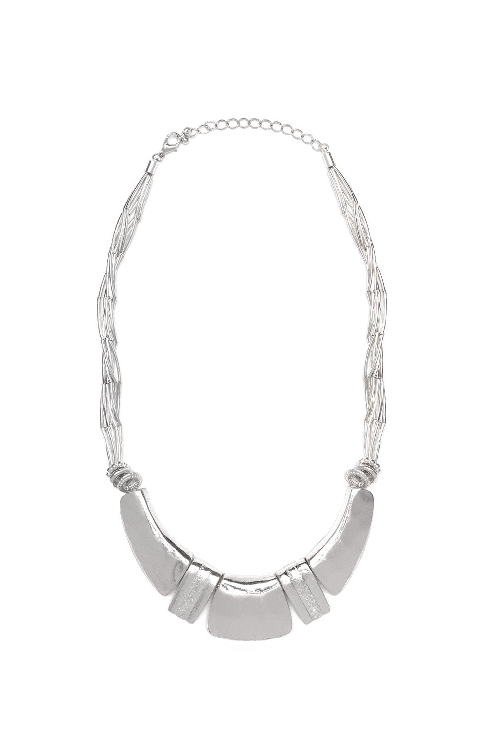 Type 4 Silver String Necklace