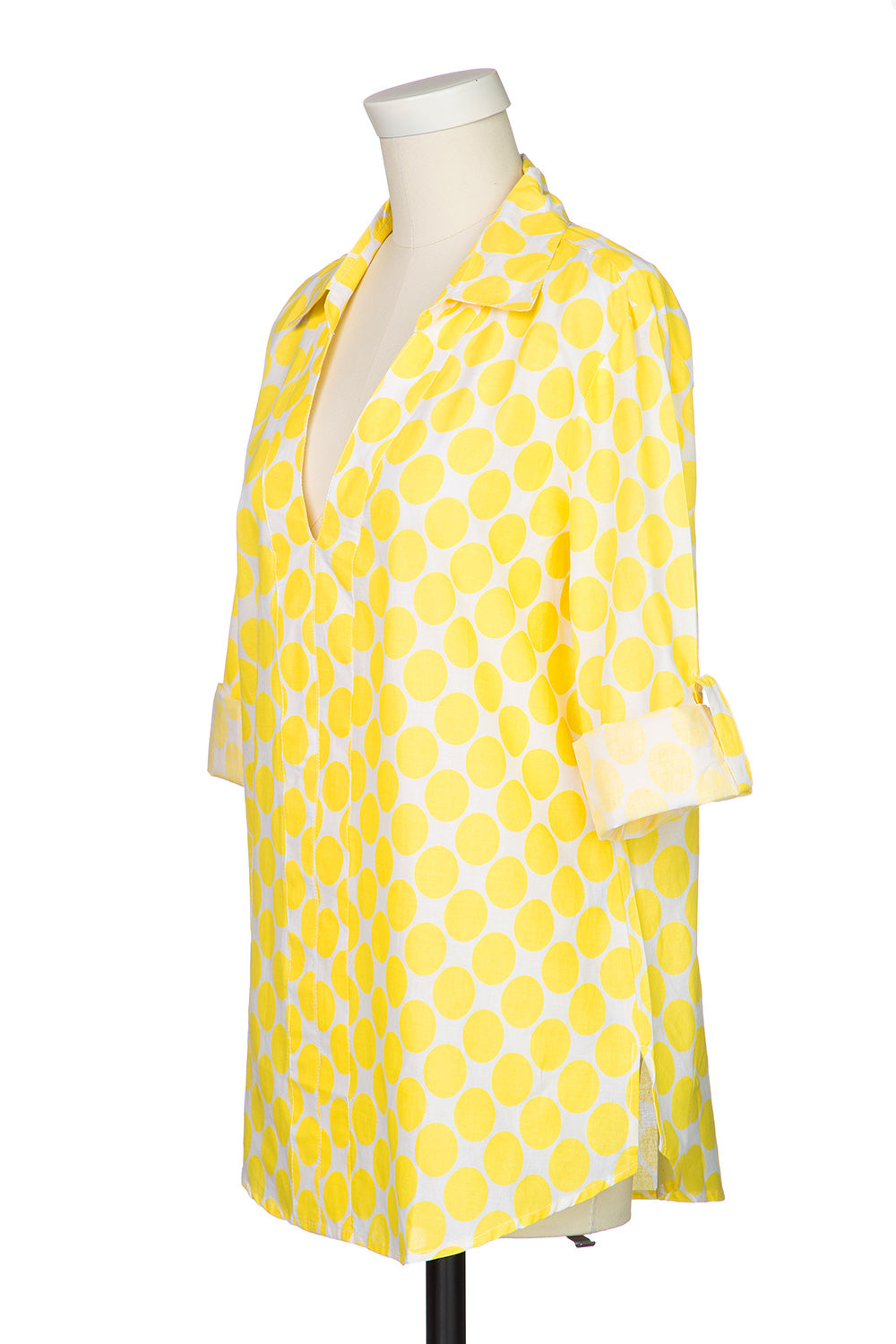 Type 1 Polka Party Top in Yellow