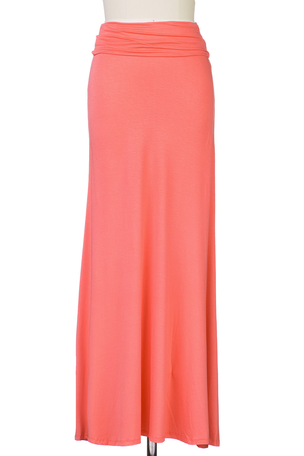 Type 1 Coral Maxi Skirt