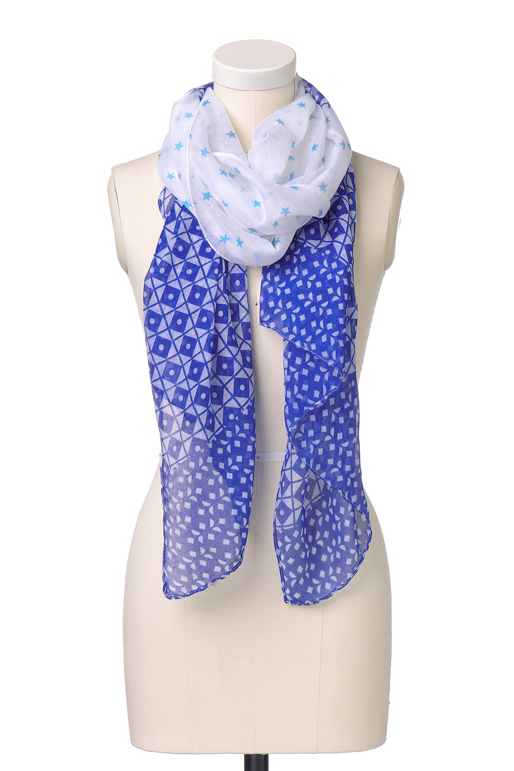 Type 1 Stars and Diamonds Forever Scarf