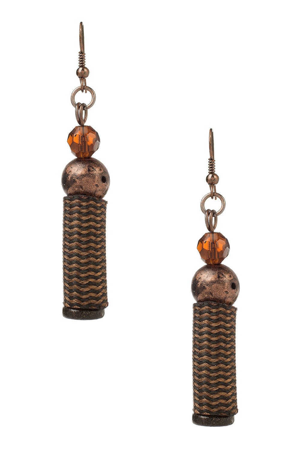 Type 3 Copper Palm Earrings